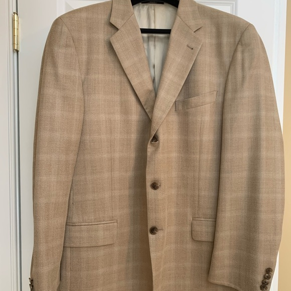 Joseph Abboud Other - Joseph Abboud Tan 3 Button Blazer